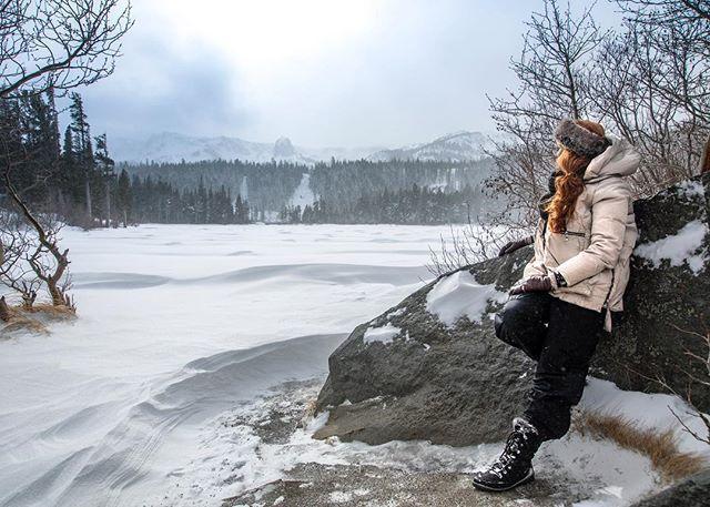 Frozen lakes & a happy heart Meg Moves Mountains A