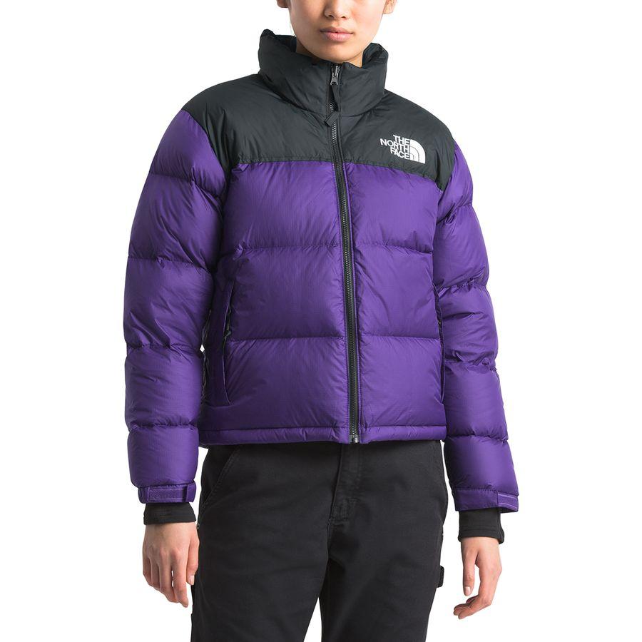 1996 Retro Nuptse Jacket Women S North Face Jacket Outfit North Face Jacket Leather Jackets Women