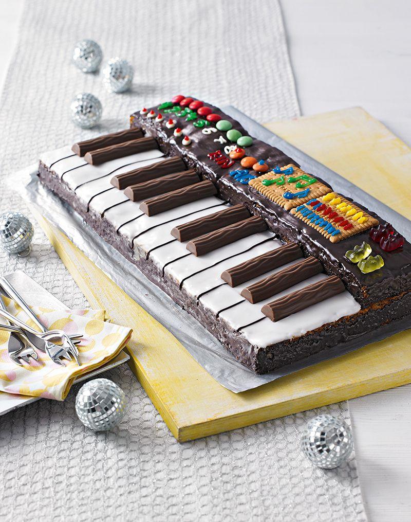 Keyboard-Kuchen