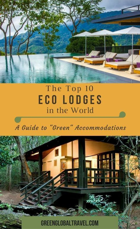 If you are looking for responsibly managed #ecolodges that help to promote #sustainable #tourism this is the guide for you. From Costa Rica and Chile to Kenya and Australia, these 10 lodges have been chosen for their #eco-friendly approach. Via @greenglobaltrvl