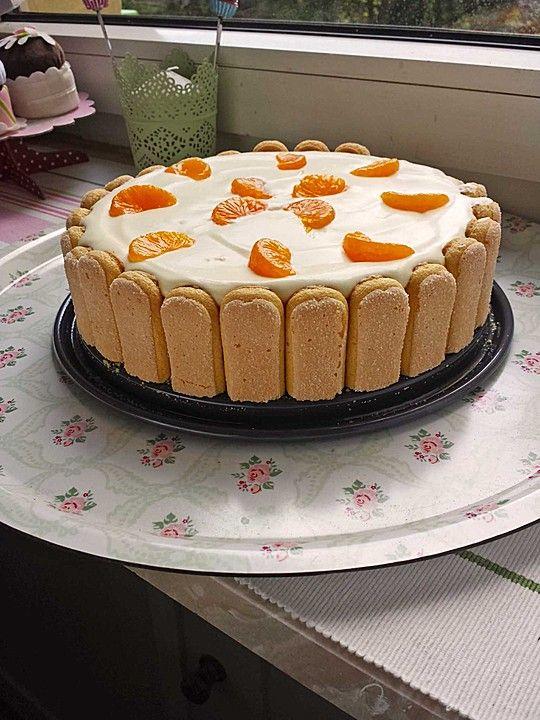 Mandarinen Philadelphia Torte Kuchen Pinterest Philadelphia