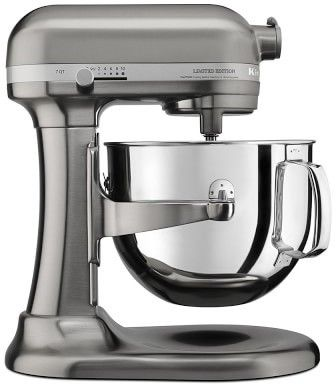 Brushed Nickel Stand Mixer
