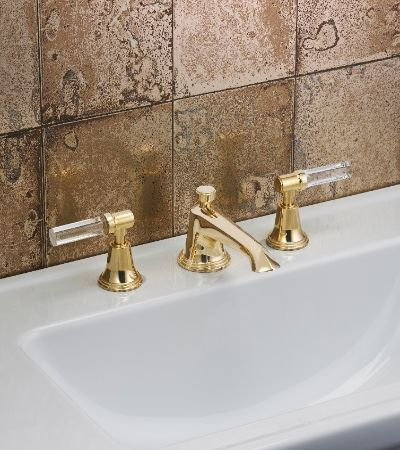 samuel heath unlacquered brass style moderne faucet | brass is