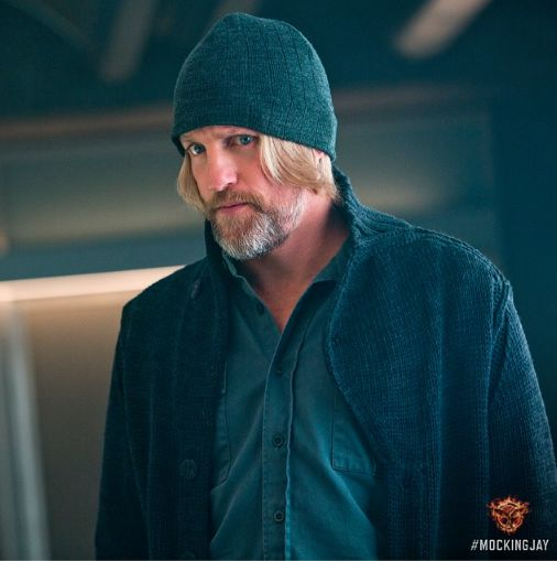 I love Haymitch and plus I like the actor who plays him!