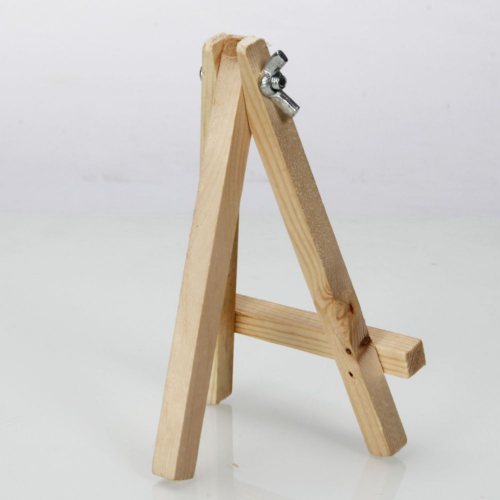New 5.6 Inch Artist Easel Wood Tripod Table Top Easel Display Drawing  Sketching