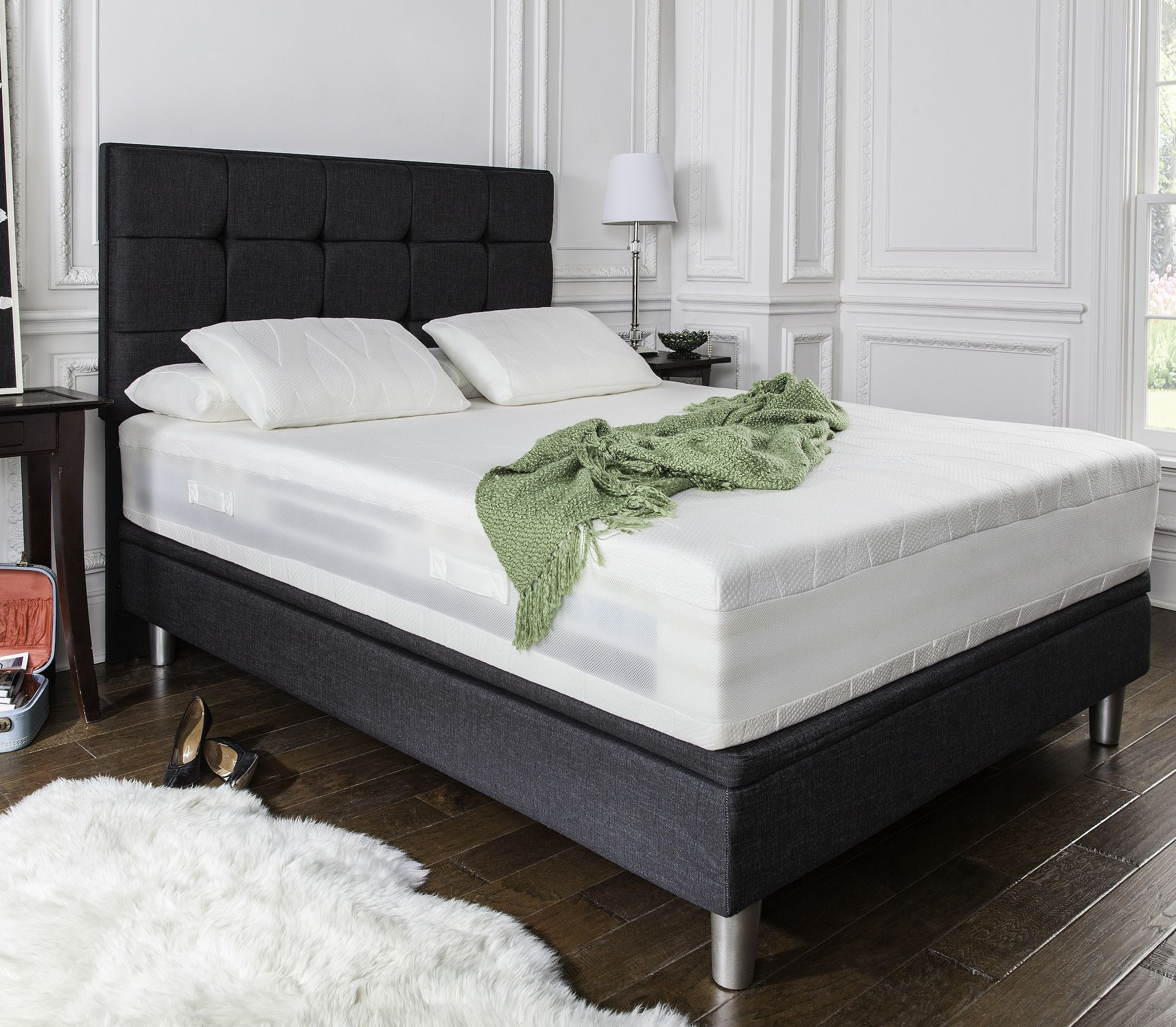 the new 9500 has octaspring memory foam and this revolutionary