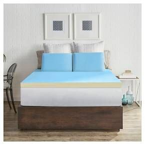 The Sealy 2 Inch Memory Foam Cooling Mattress Topper Is Engineered