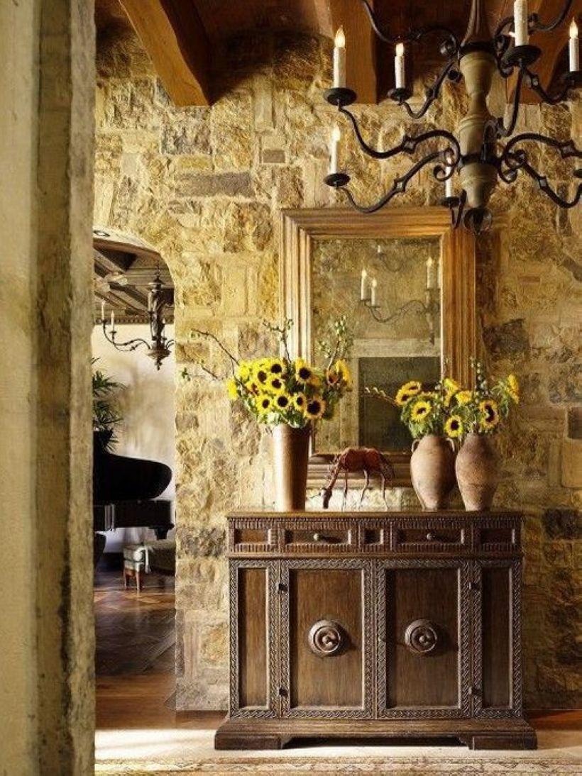 33 Best Rustic Italian Home Décor Ideas   Rustic italian, Wood stone ...