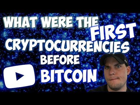 First cryptocurrency before bitcoin