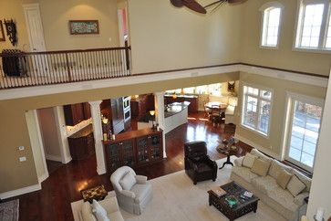 Two Story Vaulted Ceiling Home Design Ideas Pictures Remodel And Decor Vaulted Ceiling Living Room House Design Home Decor