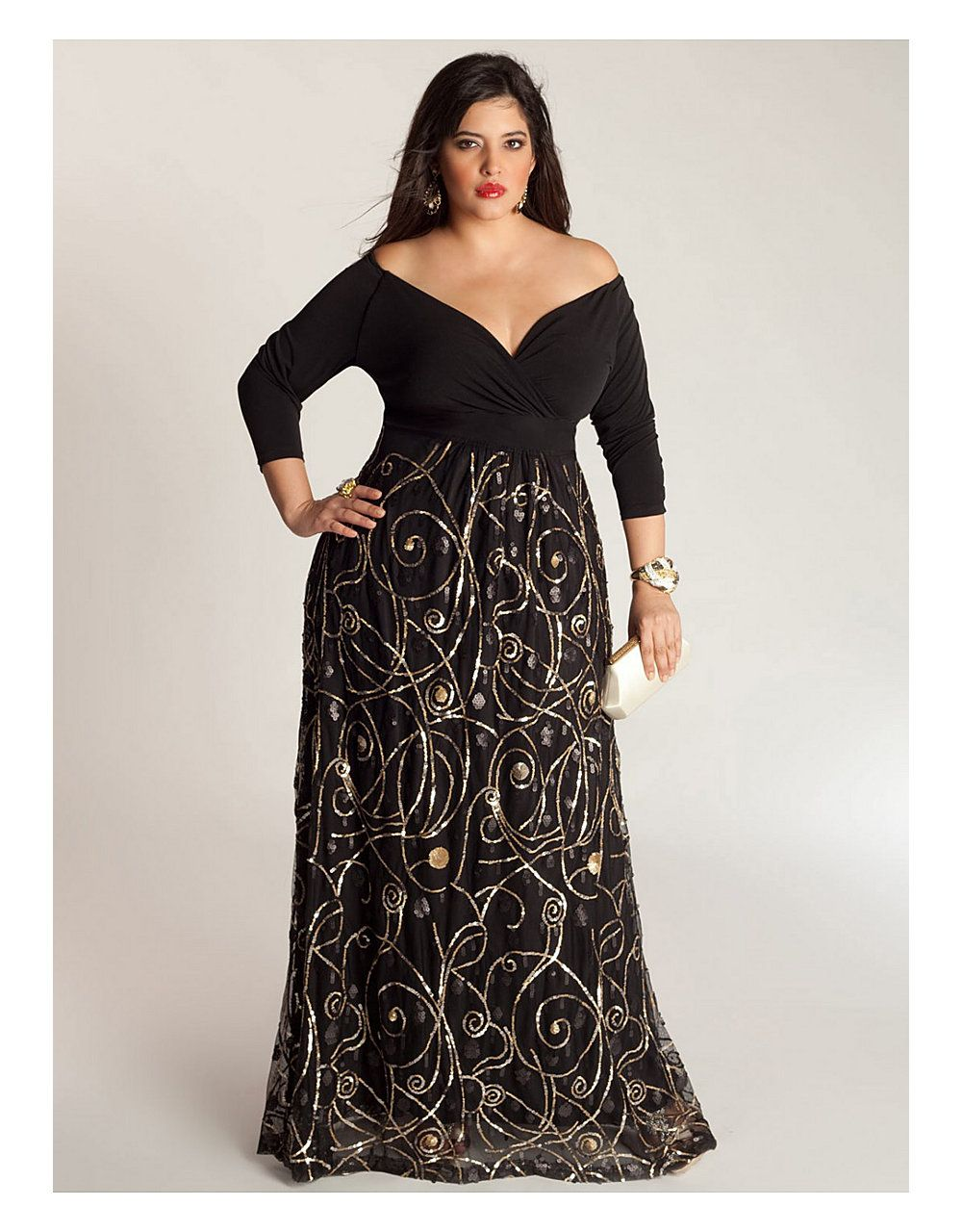 Kandinsky Gown | Lane Bryant | PLUS SIZE HEAVEN | Pinterest ...