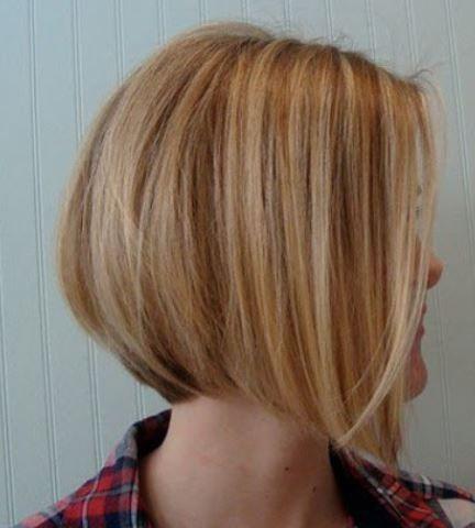 Tagli capelli carre corto dietro