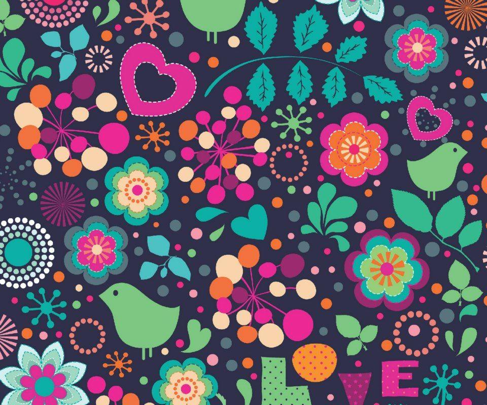 Love & Flowers - Samsung Galaxy S2 I9100