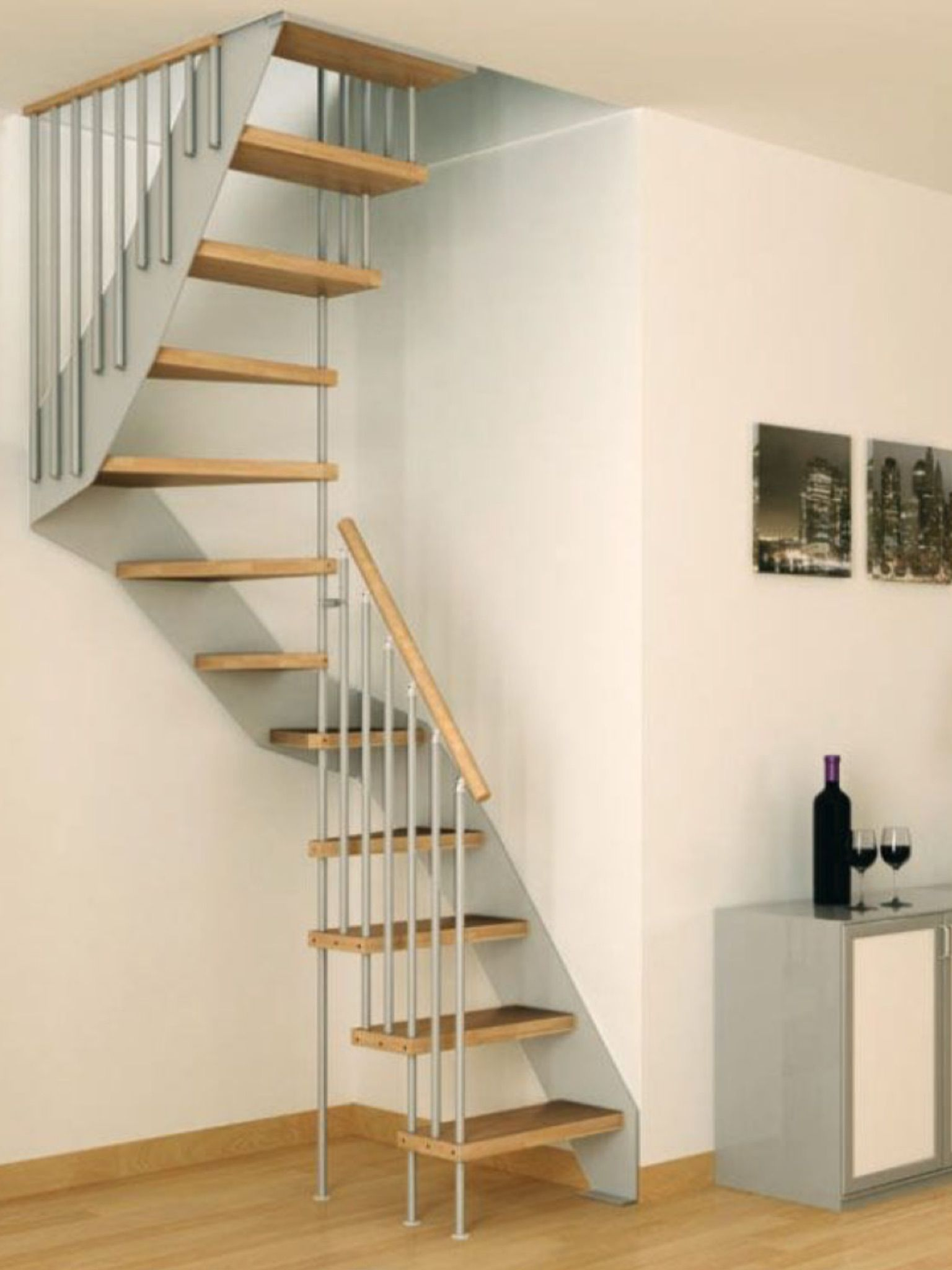 Stair Options For Small Spaces Pin By Sylwia Zabawa On Hallway Ideas Pinterest Loft