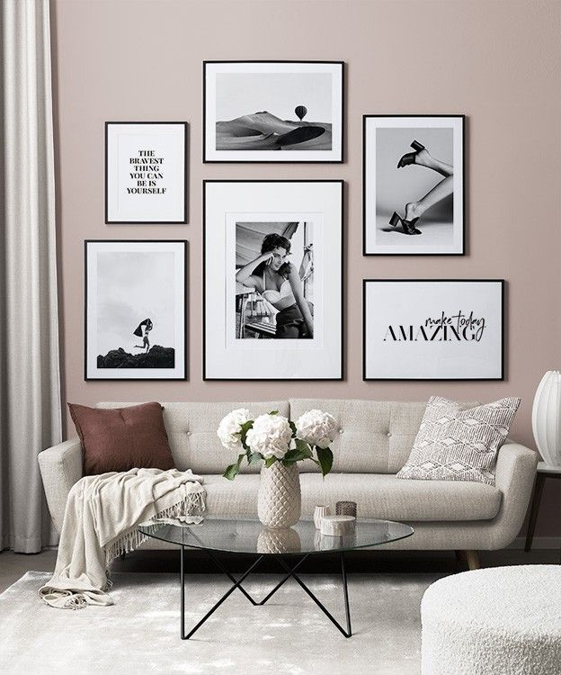 Gallery Wall And Picture Wall Inspiration Desenio Com In 2020 Gallery Wall Picture Wall Living Room Gallery Wall Template #wall #accessories #living #room