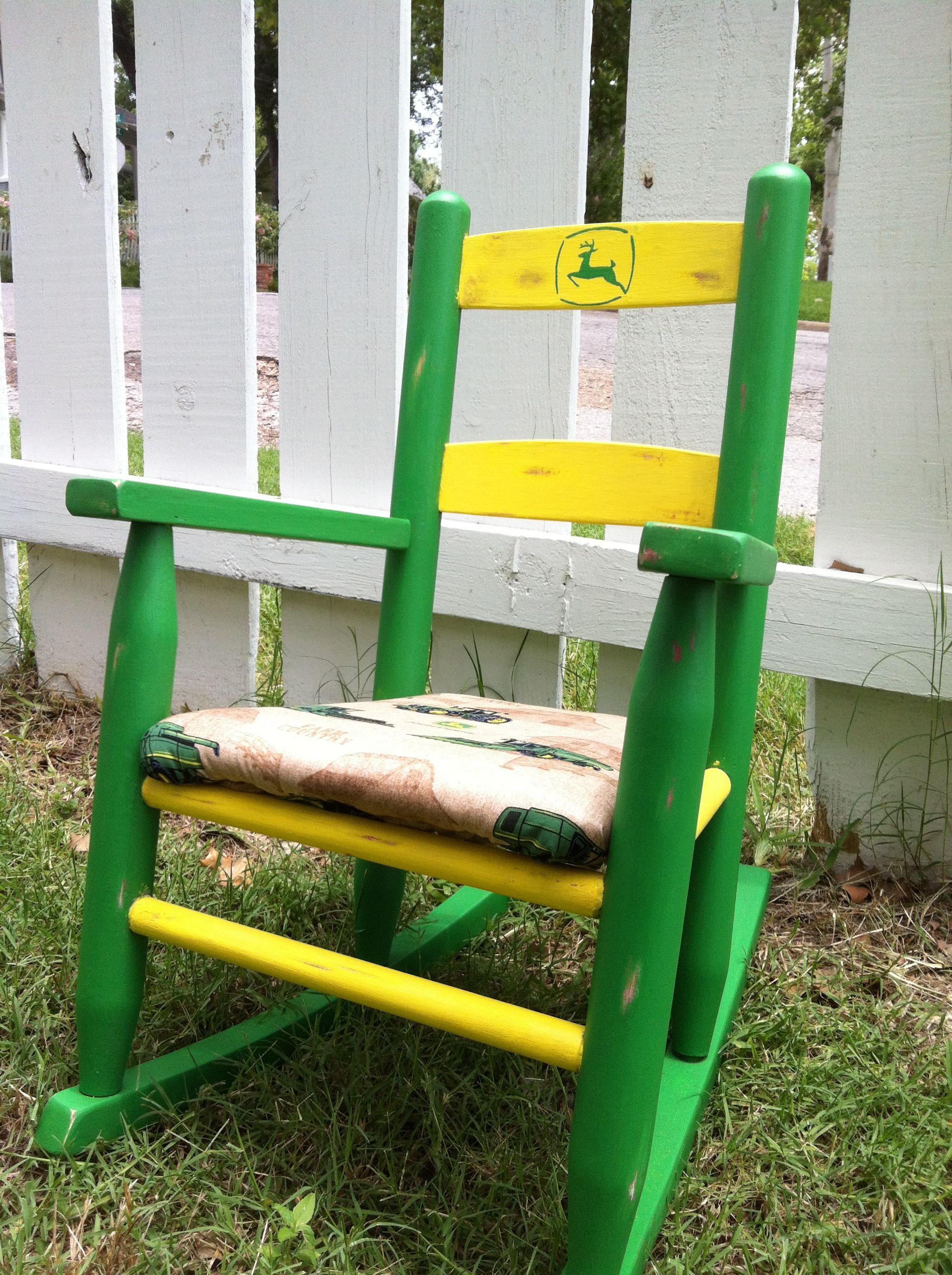 Beau John Deere Rocking Chair