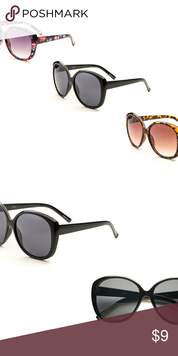 6562cfb073e Woman Fashion Oversized Oval Sunglasses P2419 Plastic frame Plastic lens  Poly carbonate lens 100% UVA   UVB Lens width  56mm Lens height  54mm  Bridge  15mm ...