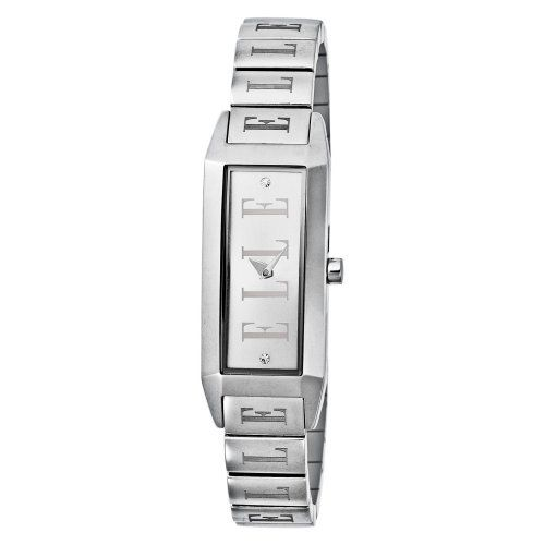 ELLETIME Women's EL20086B01C Steel Silver Dial Watch ELLETIME. $68.98. Water resistant to 99 feet (30 M). Case diameter: 18.60mm. High quality dial, Japan analog-quartz movement. Steel elegant dress-watch case. Imported from China. Save 65% Off!