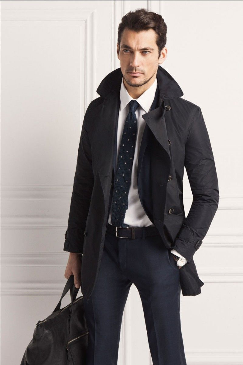David Gandy is a Vision of Elegance for Massimo Dutti's ...