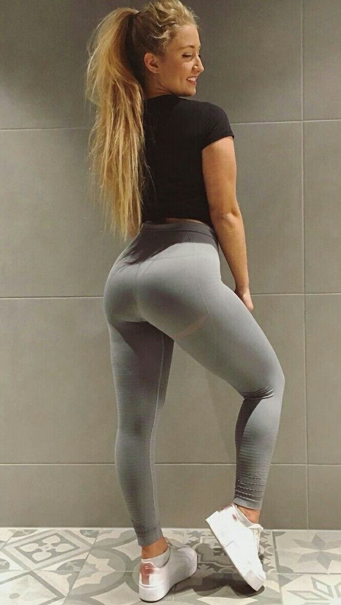 278fbf6502903 Yoga Leggings, Girls In Leggings, Yoga Pants, Tights Outfit, Glutes, Sexy
