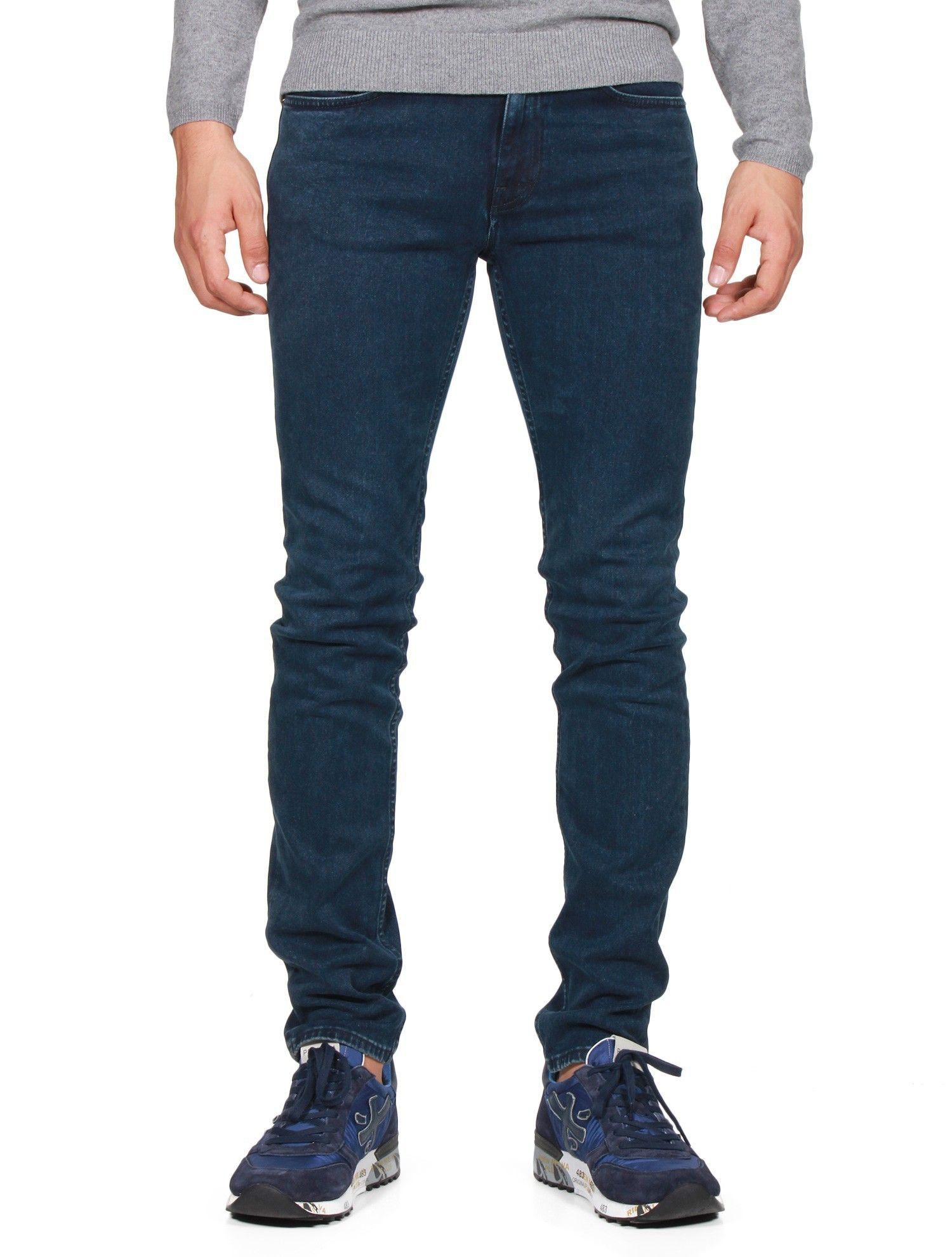 0bb4141df92 Pantalon Homme - Jean  Ace Abyss  ACNE STUDIOS - Bleu - serie ...