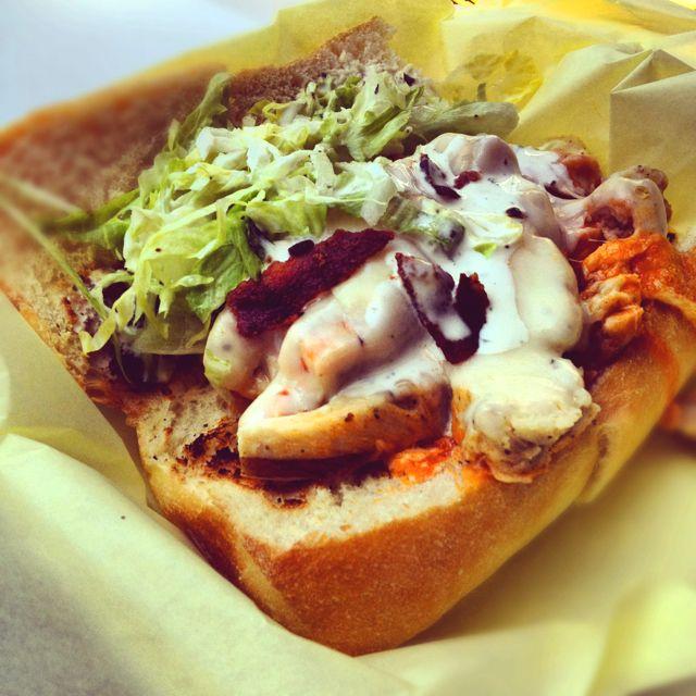 The sunburn sandwich from beach hut deli.