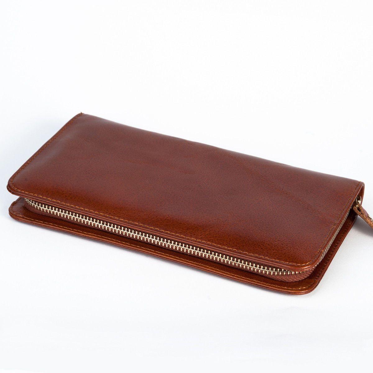 853d9491169c Кожаный клатч John McDee 8022B – в интернет-магазине Clutch&Clutch.  Натуральная кожа. Размеры: 21.5 * 12 * 2.5 см. #кожаныйклатч #мужскойклатч