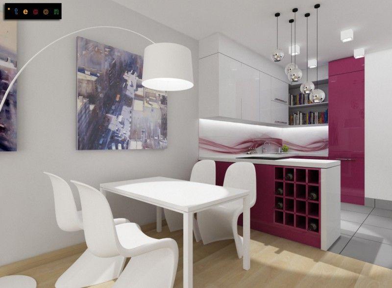 Kuchnia Z Salonem W Malym Mieszkaniu Szukaj W Google Home Decor Home Decor
