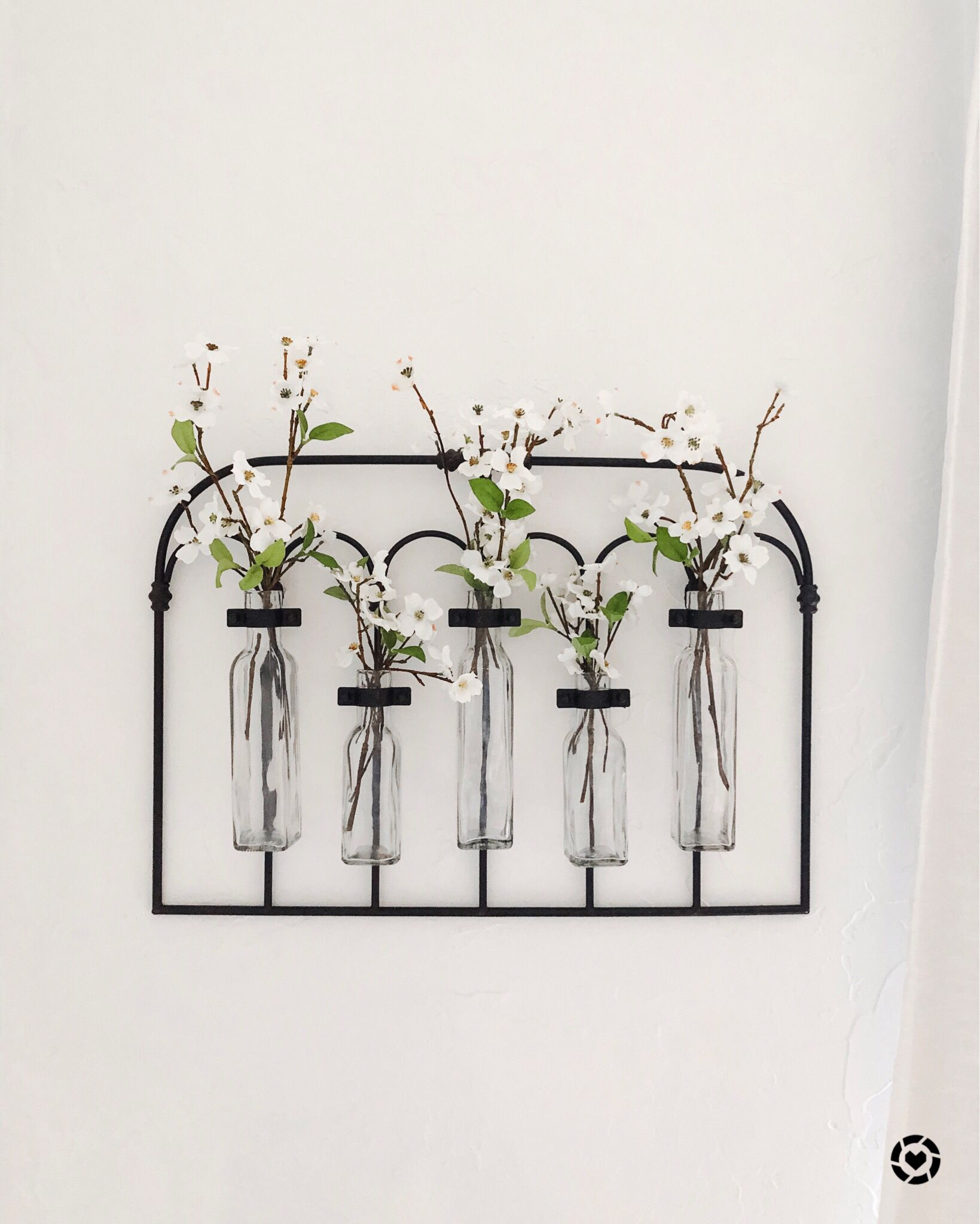 How Cute Is My New Wall Vase Ltkhome Farmhouse Vases Metal Wall Flowers Wall Vase