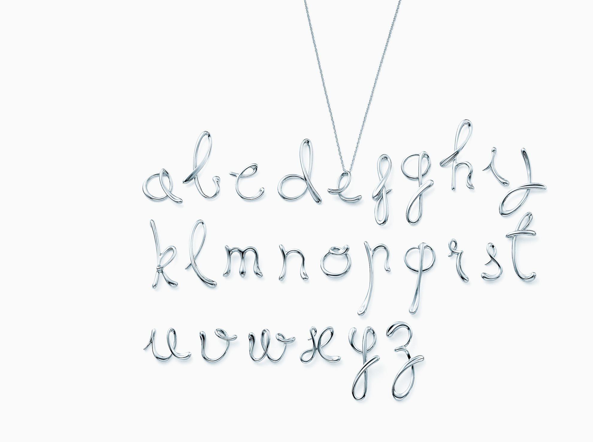 elsa peretti letter t pendant