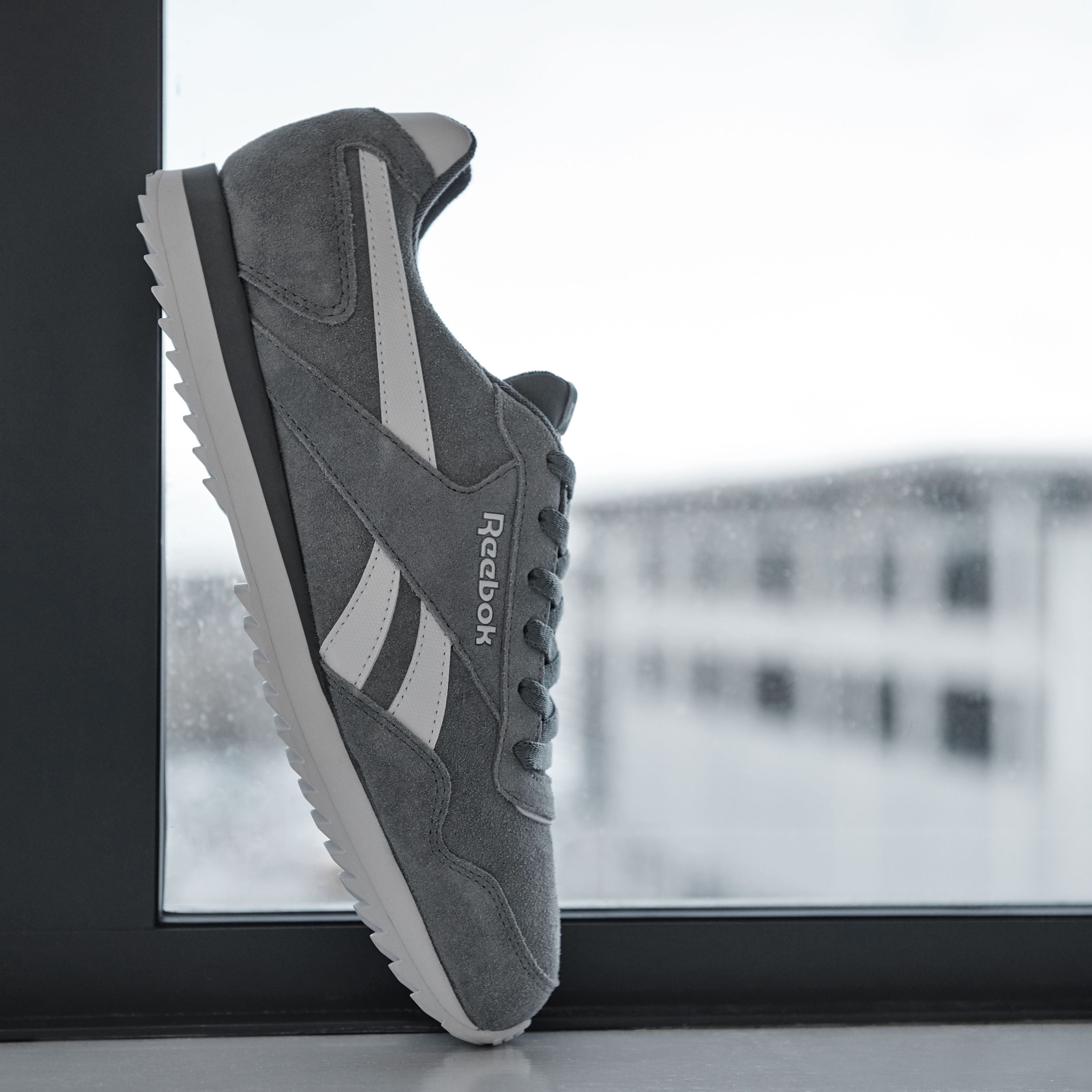 509e8e309e98b6 Glide your way through everything that comes your way with the Reebok Royal  Glide Ripple Suede