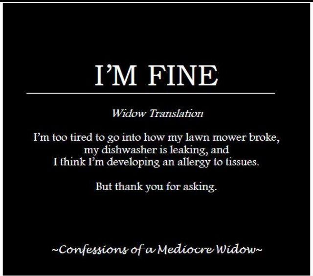 Widows and widowers clubs
