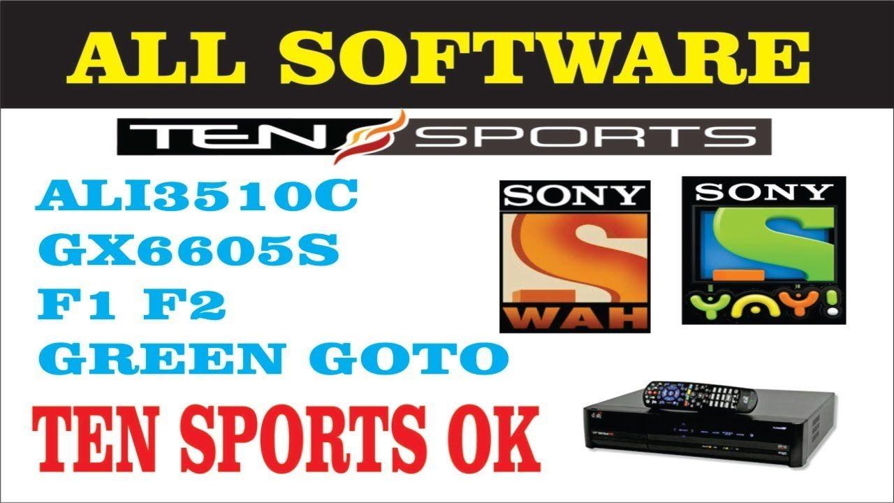 ALI3510C GX6605S F1F2 GREEN GOTO ALL SOFTWARE TEN SPORTS OK