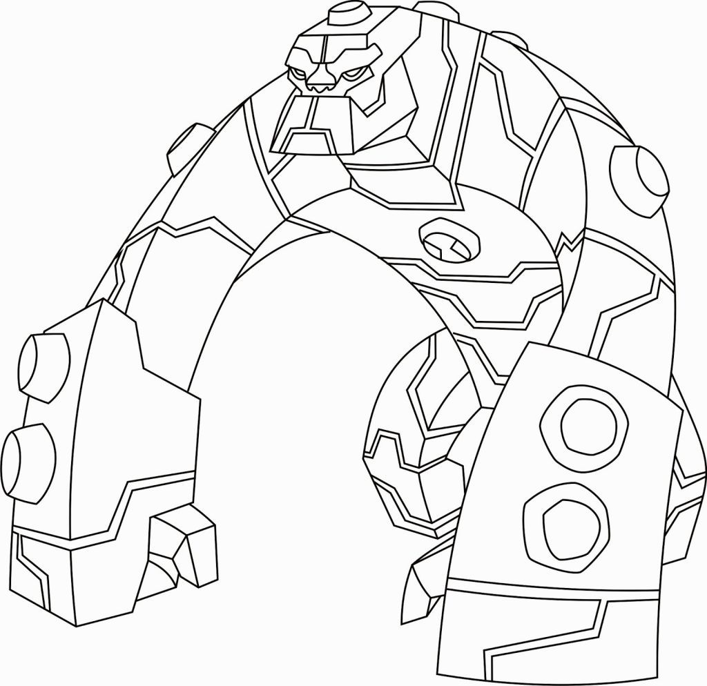 Ben 10 Omniverse Coloring Pages Pinterest
