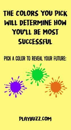The Colors You Pick Will Determine How You'll Be Most