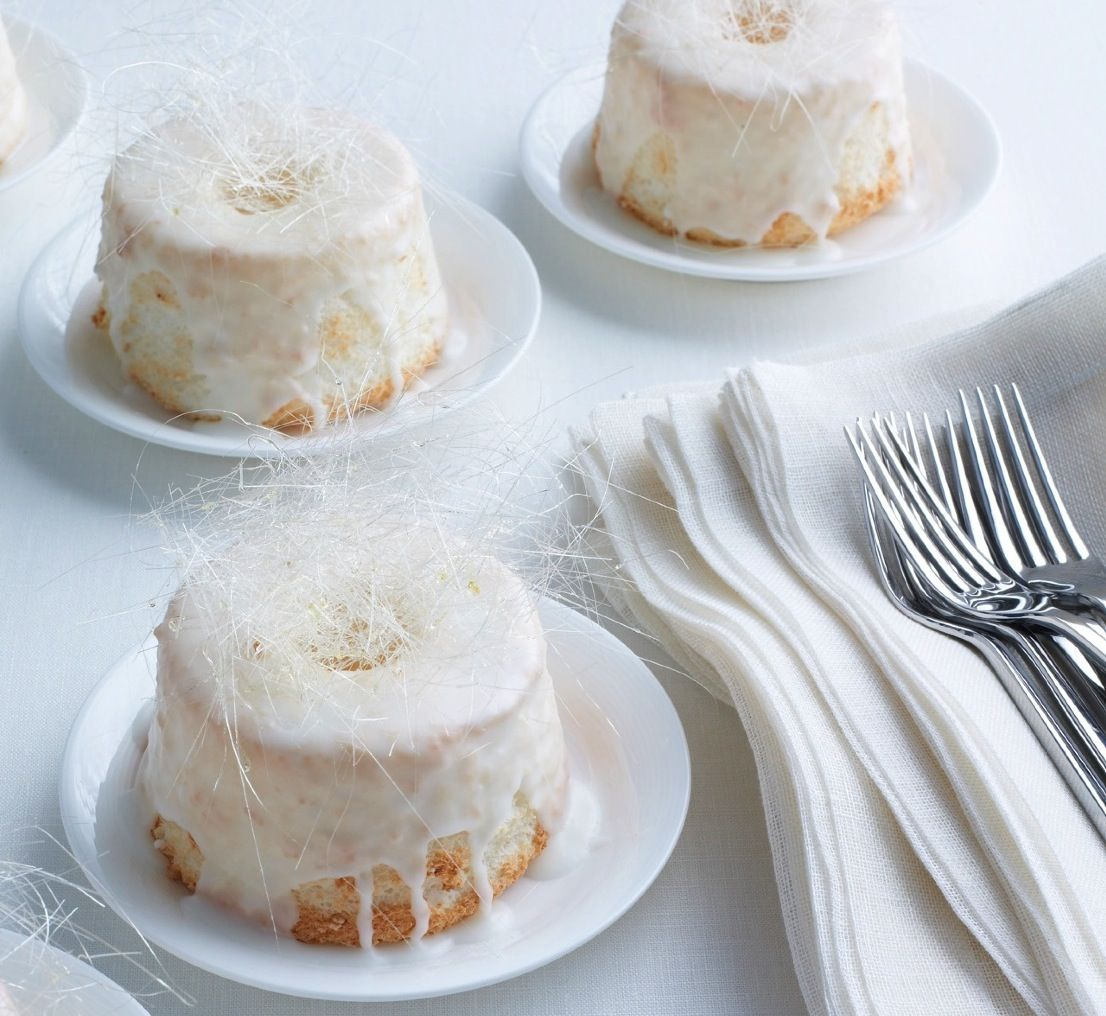 Martha Stewart Mini Angel Food Cakes Recipe