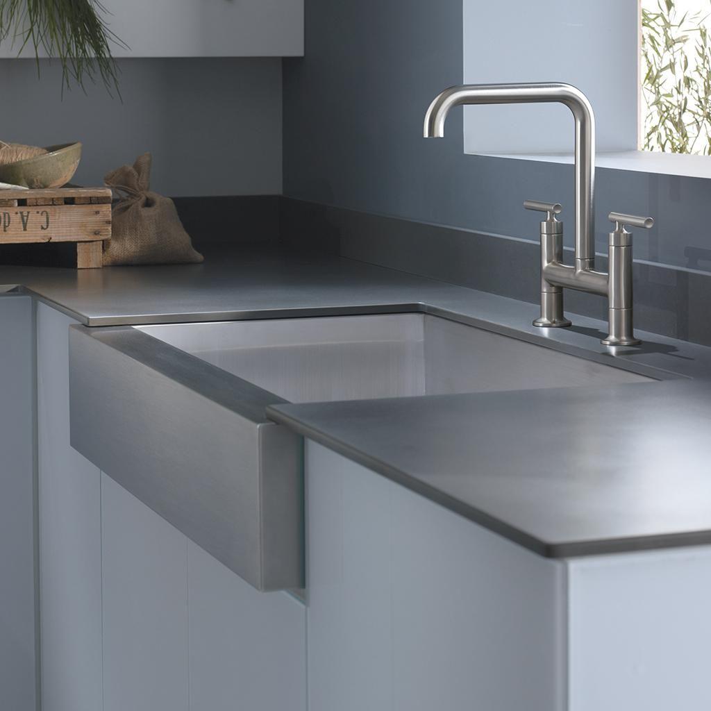 Kohler K 3942 4 Na Vault Top Mount Single Bowl Kitchen Sink With