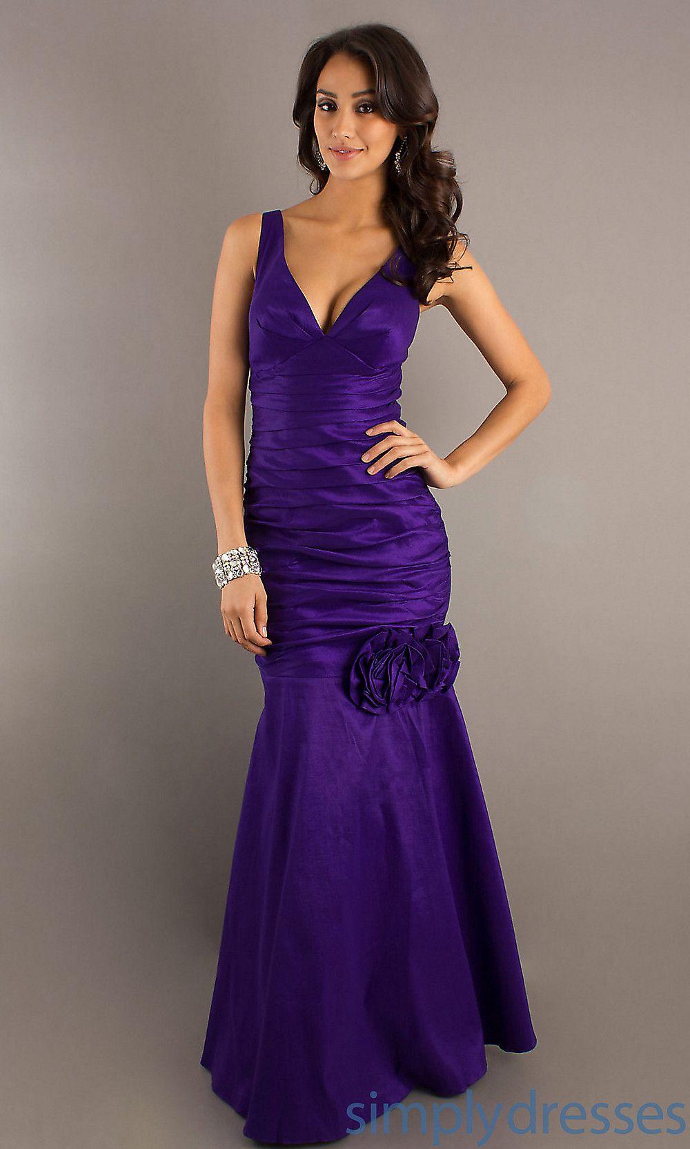 Long vneck formal dress cheap long prom dress simply dresses