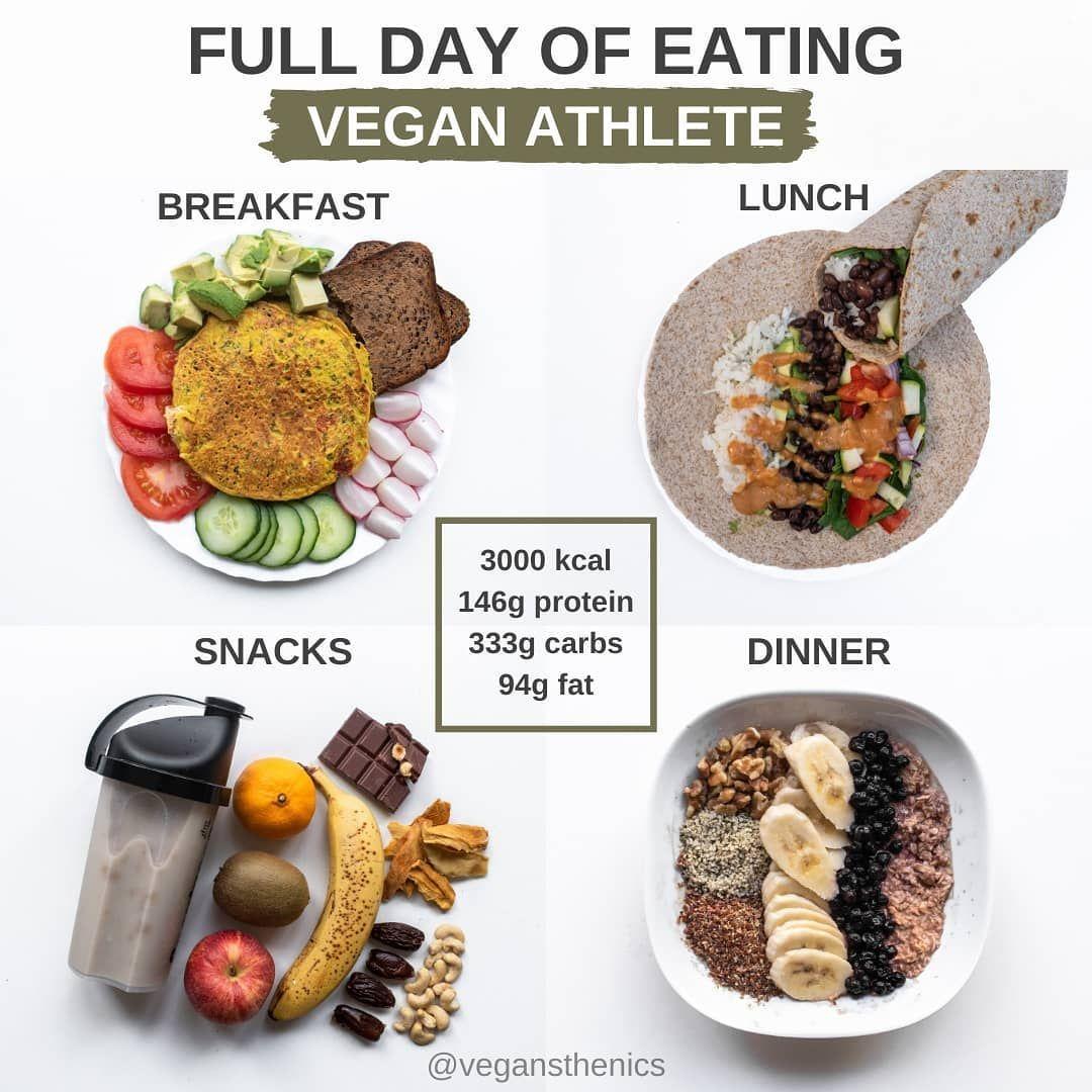 Vegan Calisthenics Edi On Instagram Vegan Full Day Of Eating Follow Vegansthenics Here Is An Example O In 2020 Vegan Athletes Eat Vegan Eating