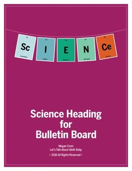 Science Heading In Periodic Table Elements With Images 4th