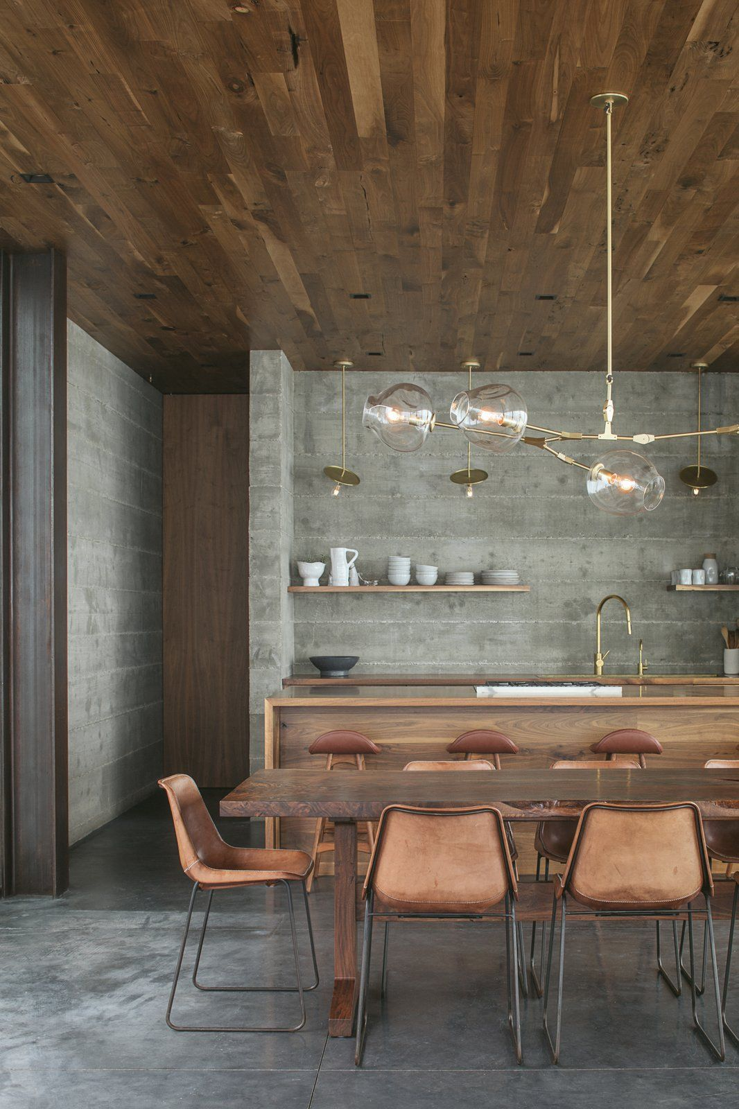 Off-Grid Guest House in 2019 | Modern Kitchen Lighting Ideas