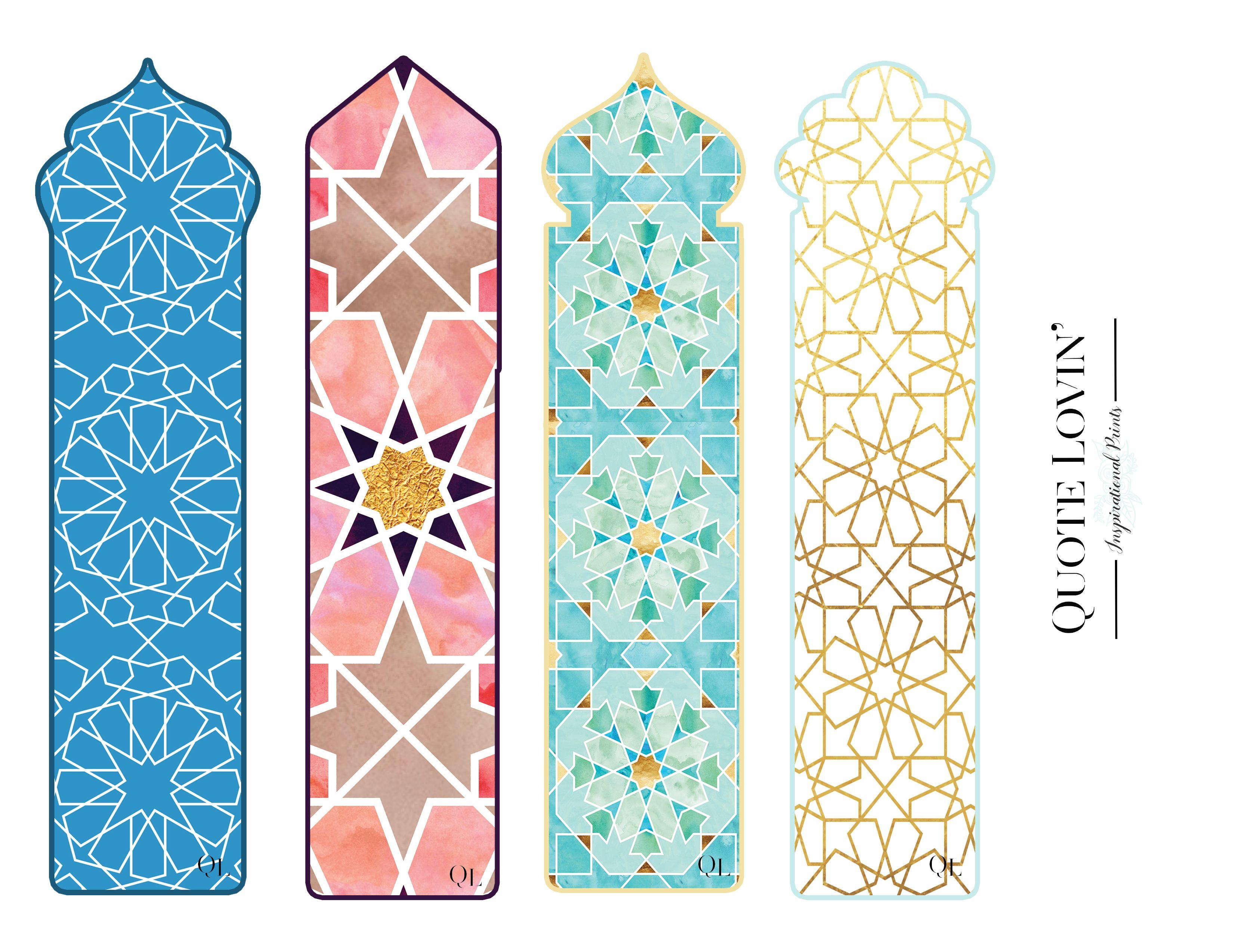 Book Marks Ramadan Crafts Ramadan Kids Ramadan Activities