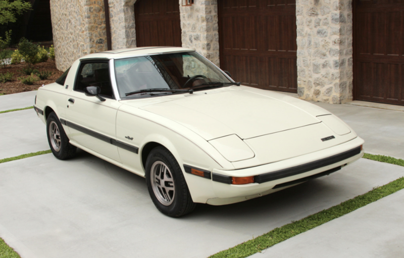 check out this 1983 mazda rx 7 gsl for throwbackthursday tbt rh pinterest com
