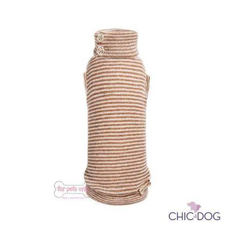 Urban Style Pull Beige by For Pets Only - To Be the brightest #doggy of the city <3 | Per essere il cagnolino più luminoso della città <3 #Chic4Dog