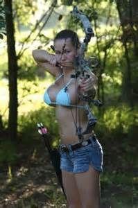 bikini shooting bow