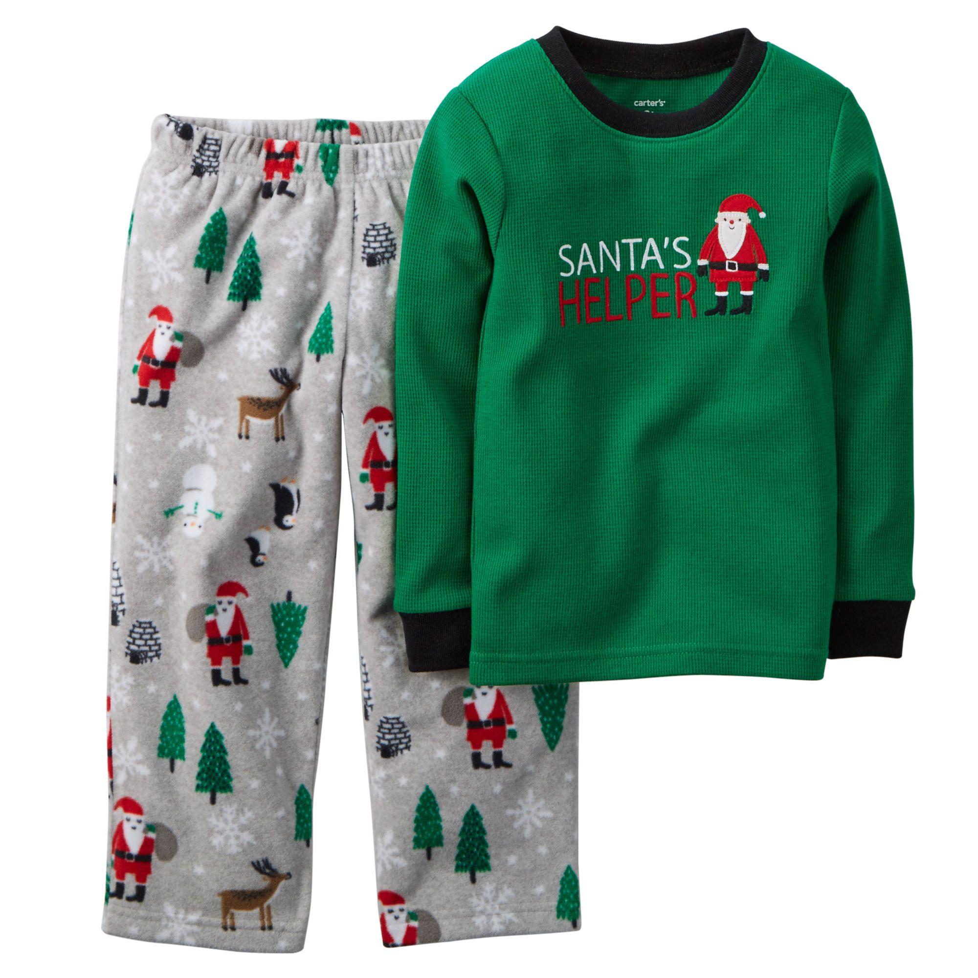 8b300d4ee 2-Piece Thermal & Fleece PJs | Boy's clothes | Carters baby boys ...