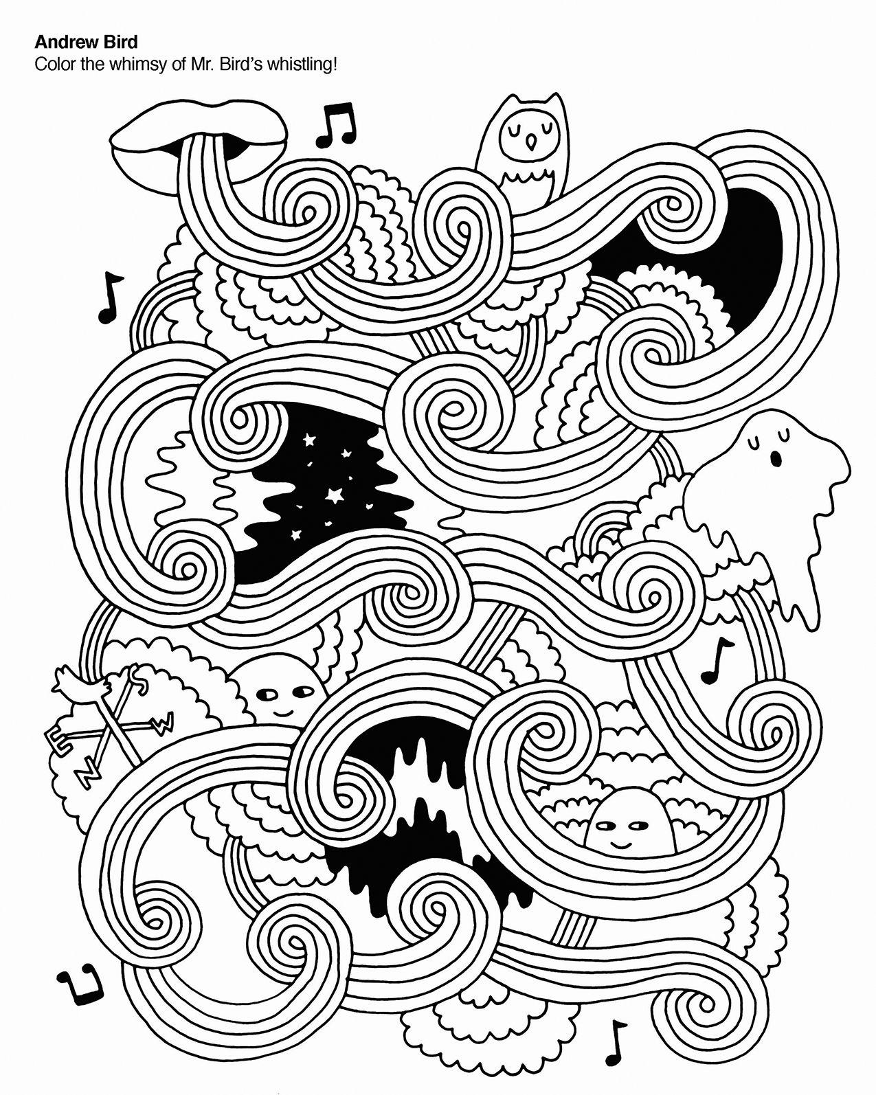 coloringbook-indierock-andrewbird.jpg (1275×1594) | Coloring for ...