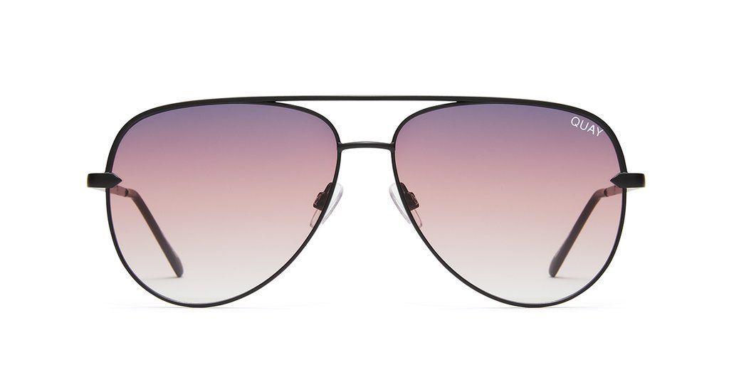 bb8fe409a7 Quay Australia Sunglasses Sahara- Black Purple Fade - Bria Bella Boutique