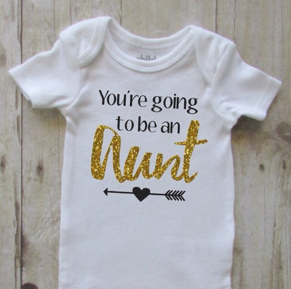 You/'re going to be an aunt Aunt gift aunt shirt aunt announcement aunt bodie aunt announcement gift new aunt gift aunt baby bodiesuit