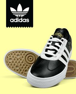 Skate shoes from top brands like Nike SB, Vans, Supra, Adidas, Lakai